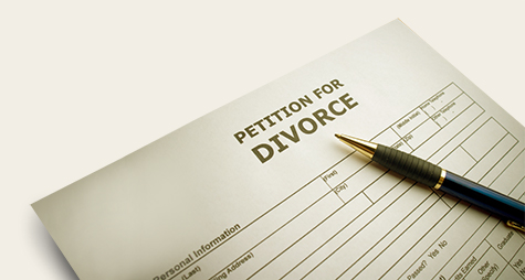 Divorce paperwork